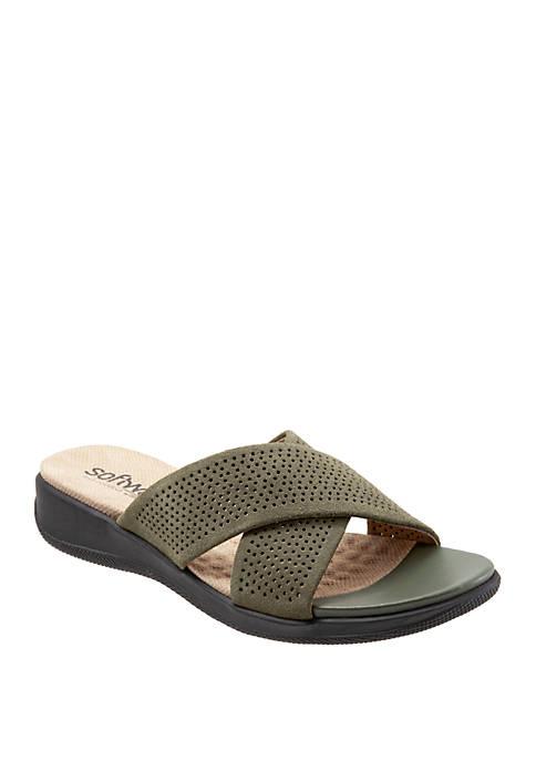 Tillman Criss Cross Slip On Sandals