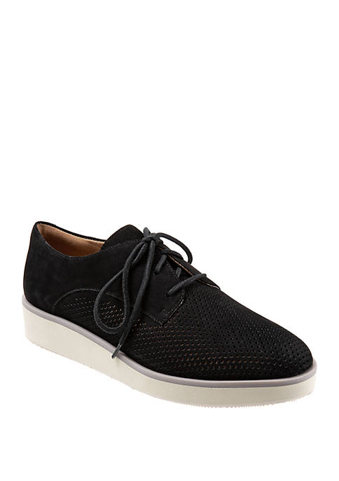 Willis Perforated Lace Up Shoes