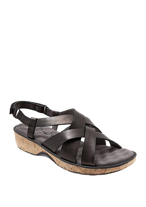 Bonaire Weaved Slingback Sandals