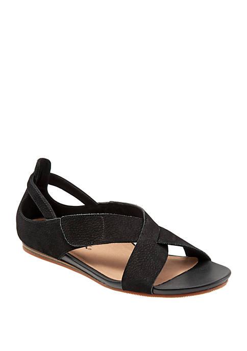 Camilla Criss Cross Closed Back Sandals