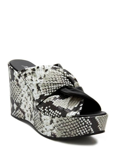 Cavalli Wedge Sandals