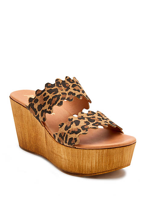 Matisse Charlie 2 Band Wedge Sandals