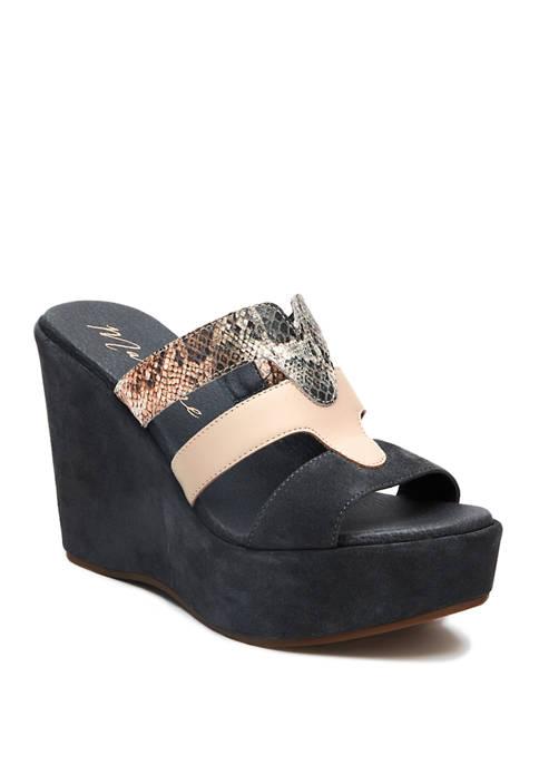 Gillian Wedge Sandals