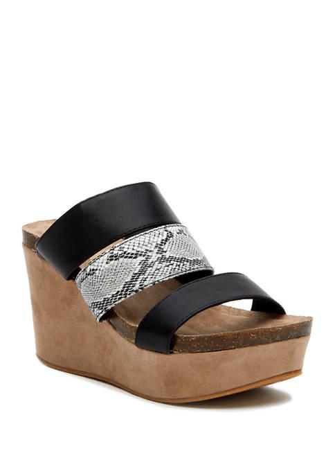 Gina Wedge Sandals