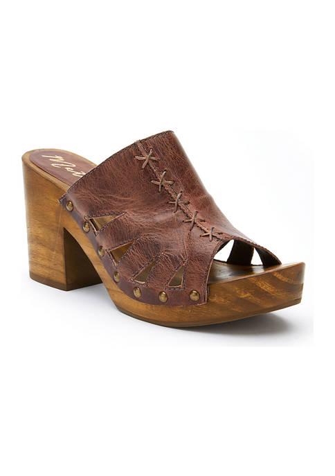 Kara Block Heel Clogs