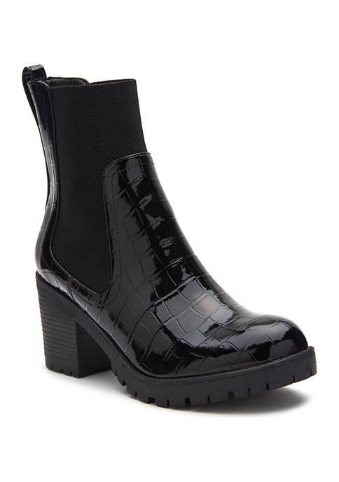 Lane Block Heel Boots