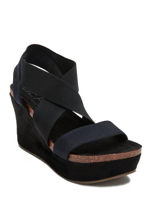 Liz Wedge Sandals