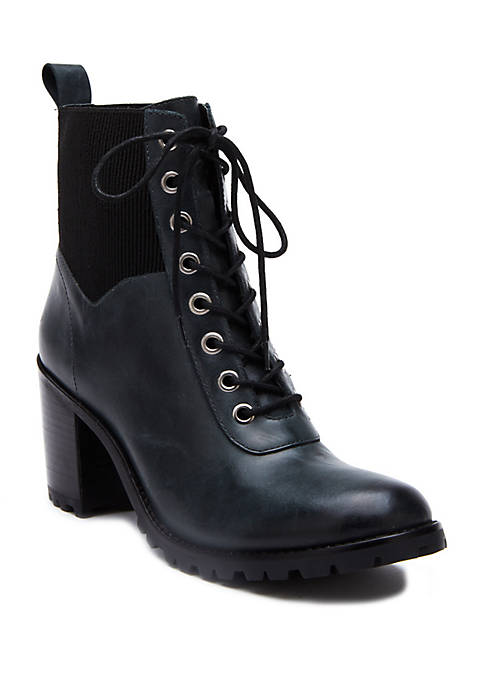 Moss Lace Up Boots