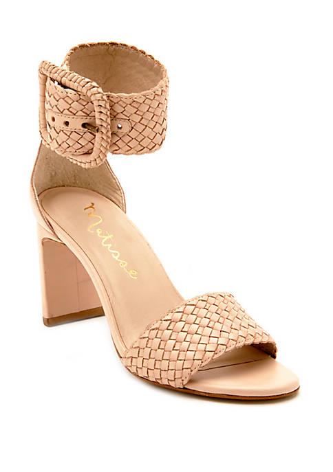 Matisse New Hope Woven Buckle Sandals