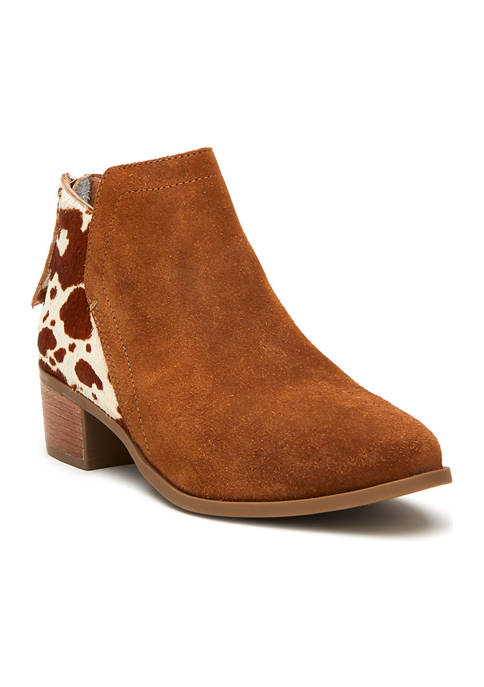 Matisse Poppy Suede and Cow Hair Booties