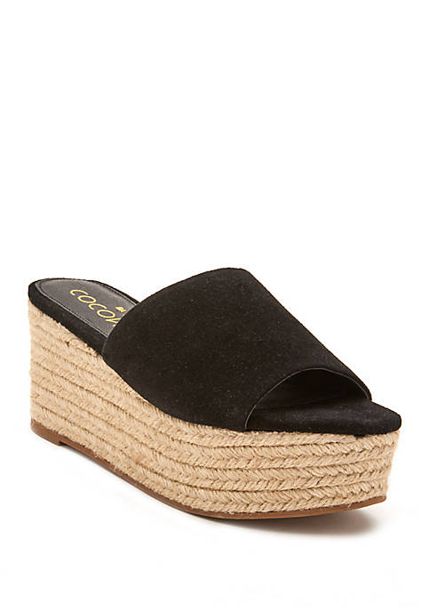 Coconuts by Matisse Sandy Wedge Sandal