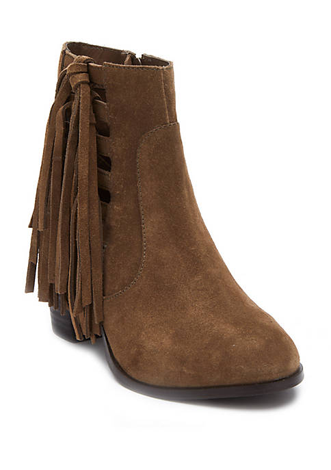 Stroll Through Fringe Boots