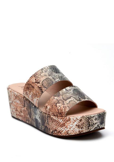 Struttin Wedge Sandals