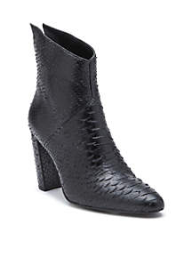 Tinsel Back Zip Boots