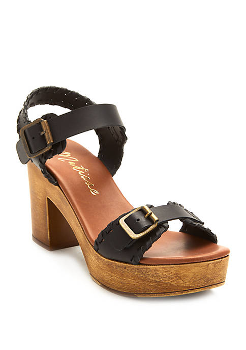 Twiggy Ankle Strap Sandals