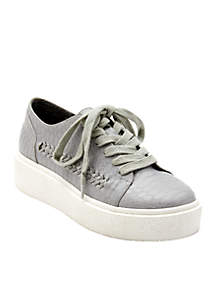 White Out Platform Sneaker