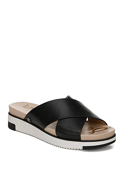 Sam Edelman Audrea Criss Cross Slide Sandals