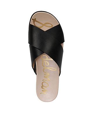 a0420d62d ... Sam Edelman Audrea Criss Cross Slide Sandals ...