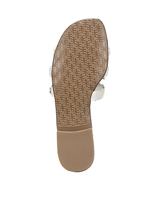 ef198b5e3 Sam Edelman. Sam Edelman Beckie Woven Cut Out Slide Sandals