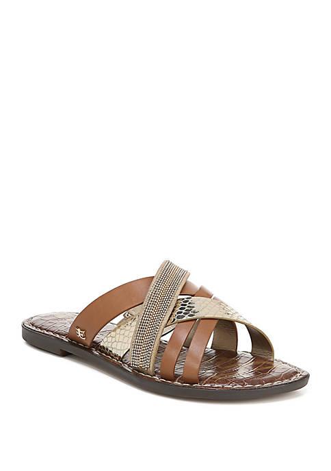 Glennia Criss Cross Slide Sandals