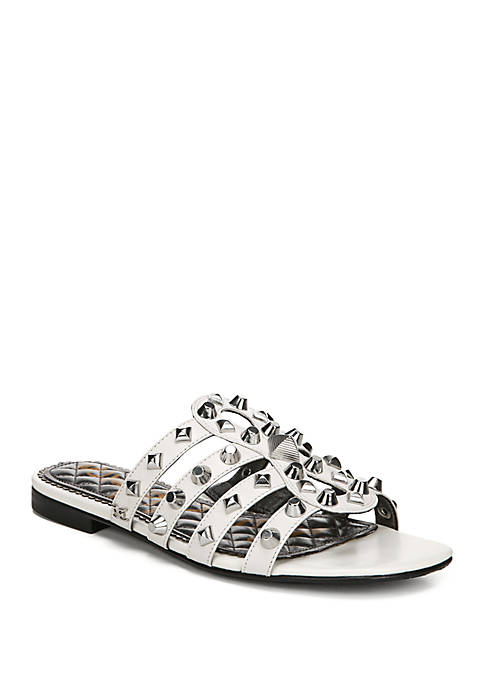 Beatriz Studded Slide Sandals