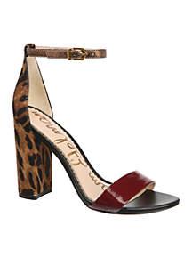 Sam Edelman Yaro Ankle Strap Block Heels
