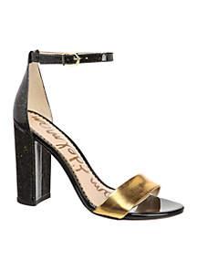Yaro Ankle Strap Block Heels