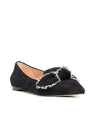 18c64ff98 Sam Edelman. Sam Edelman Rochester Pointed-Toe Loafer Flat with Bow