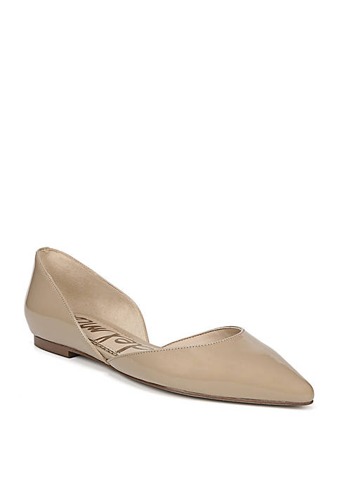 Rodney Pointed Toe Cut Out Flat
