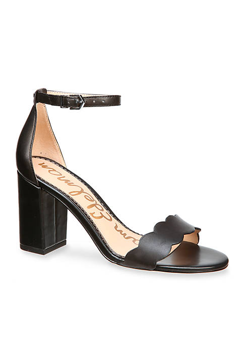 Odila Scalloped Dress Sandals