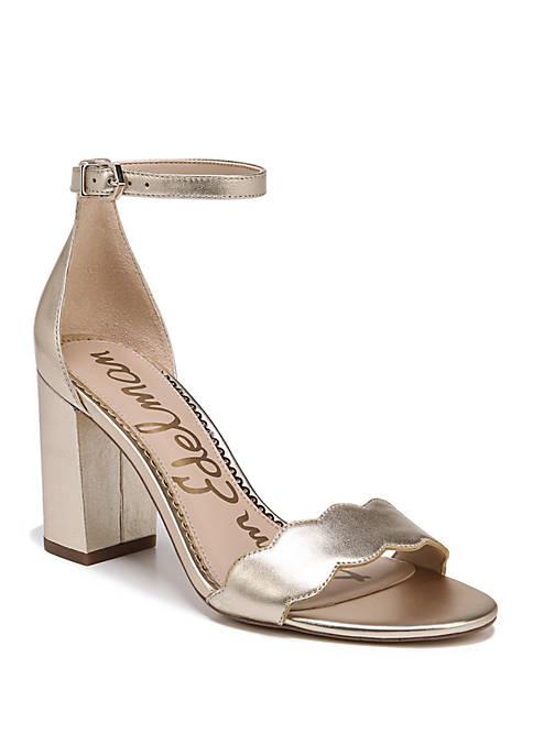 Odila Scallop Strap Sandals