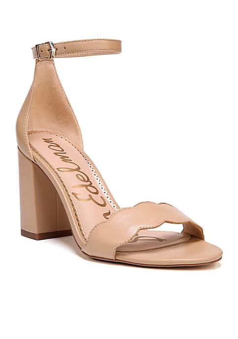 Odila Scalloped Dress Sandal