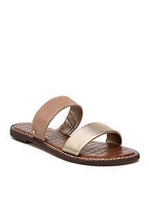 6a9351001 Birkenstock Yao Black Sandals · Sam Edelman Gala Double Strap Slide Sandals