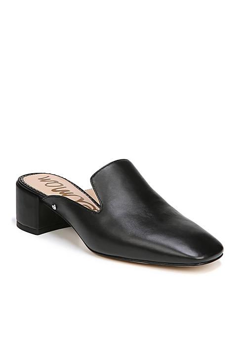 Adair Block Heel Mules