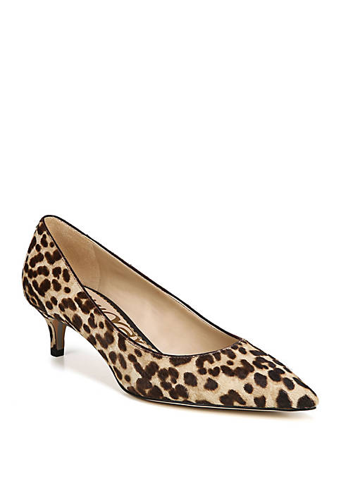 Dori Low Heel Pumps