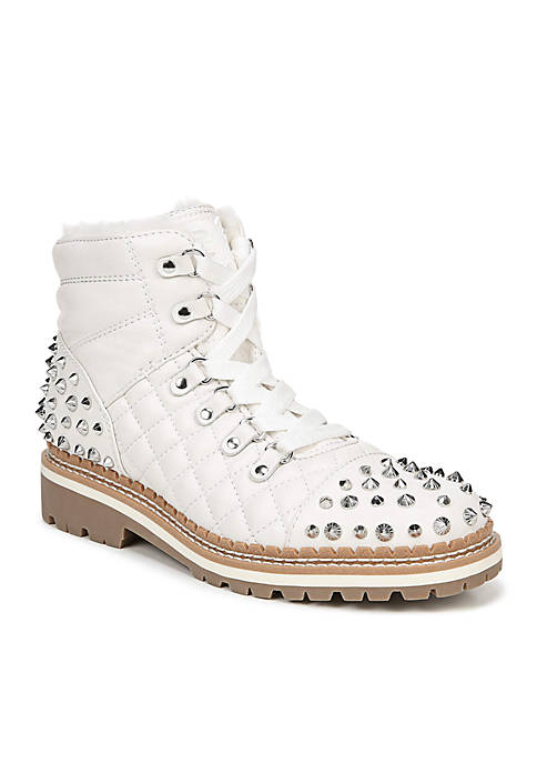 Bren Studded Lace-Up Boot