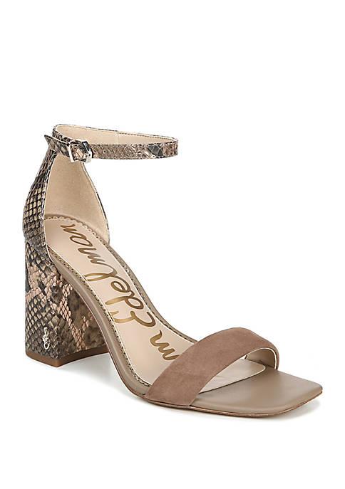 Sam Edelman Daniella Block Heel Dress Sandals