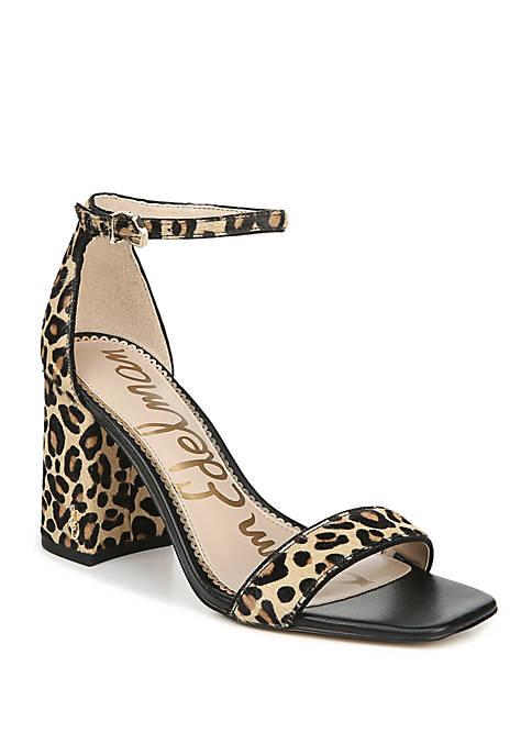 Daniella Block Heel Dress Sandals
