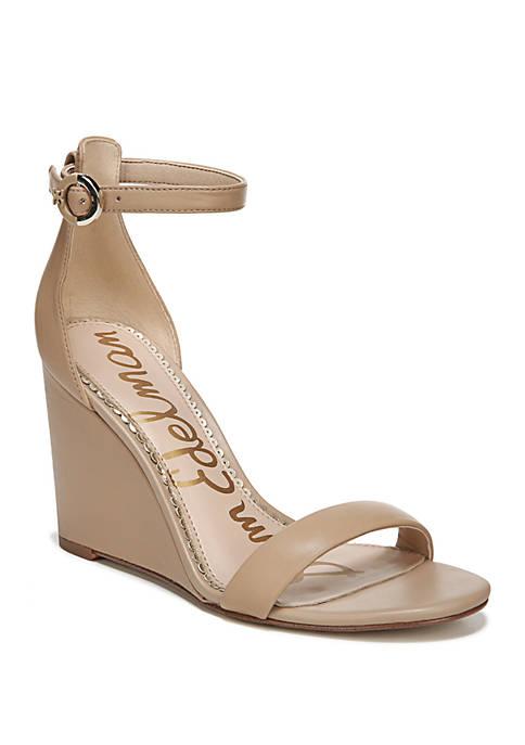 Nessa Strappy Wedge Sandals