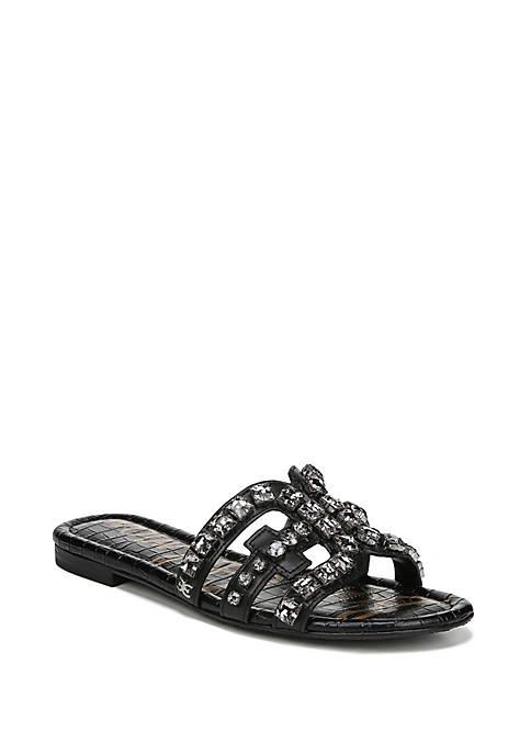 Sam Edelman Bay 8 Embellished Slip On Sandals