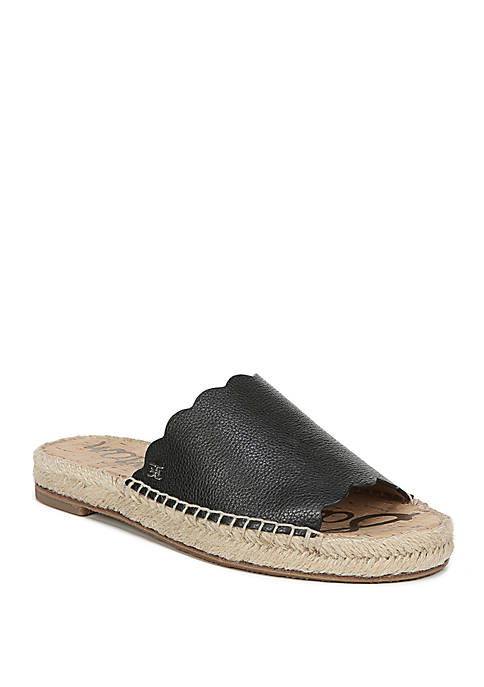 Andy Scallop Espadrille Sandals