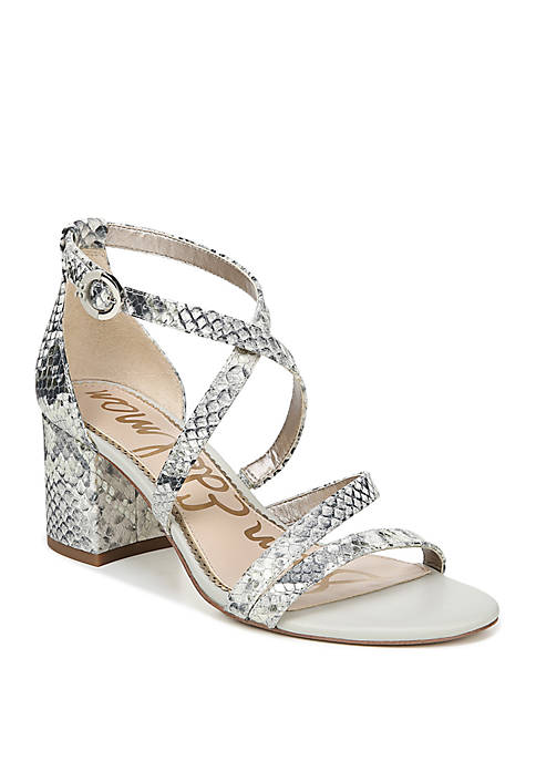 Stacie Strappy Heeled Sandals