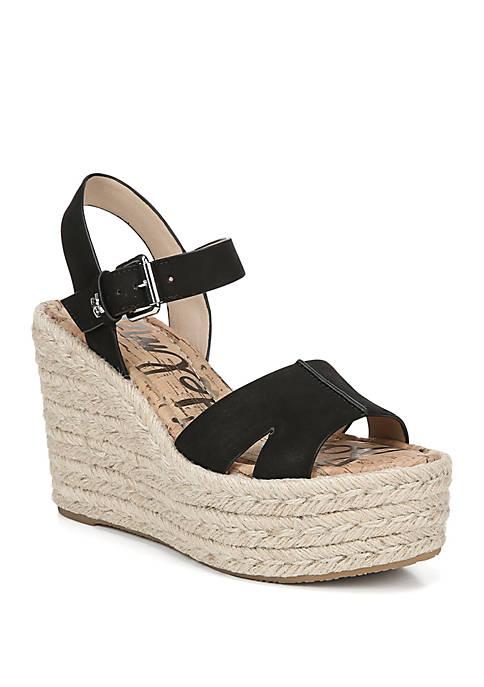 Maura Espadrille Wedge Sandals
