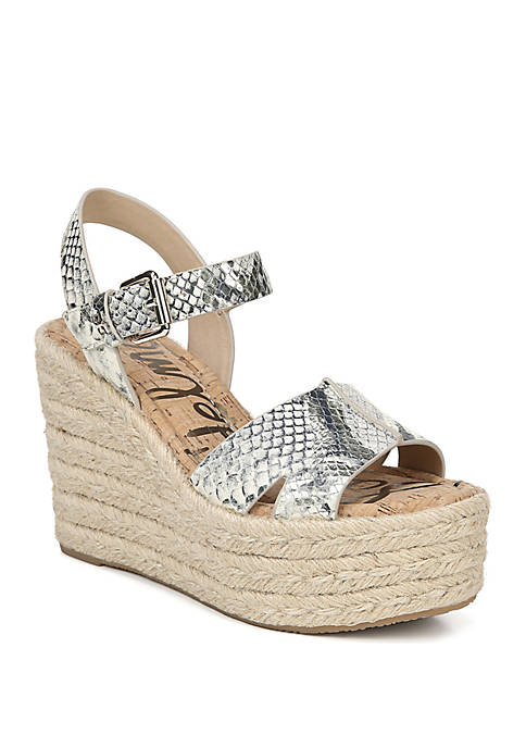 Maura Espadrille Wedge Sandals