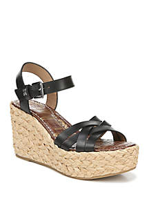 Sam Edelman Darline Woven Wedge Sandals