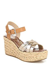 Sam Edelman Darlene Braided Wedge Sandals