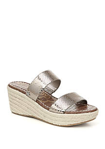 b621eda30fcd ... Sam Edelman Rubbie Espadrille Wedge Sandals