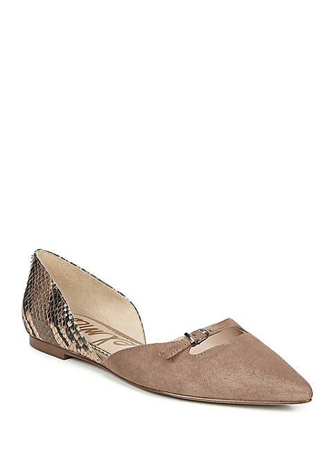 Rina Pointed Toe Flat Shoes