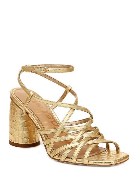 Daffodil Strappy Sandals
