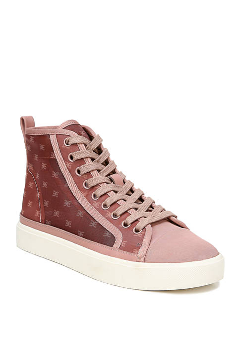 Elba High Top Lace Up Sneakers
